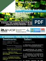 2 Seminario Bordes Urbano Rurales