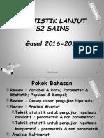 Stat Lanjt Sains 1 - Review Variabel & Jenis Data