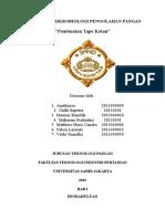 Praktikum Mikrobiologi Pengolahan Pangan (1)