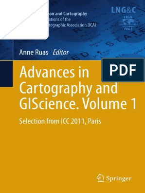 Advances in Cartography and GIScience Volume1
