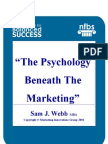 Webb,S,J - The Psychology beneath the Marketing