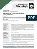 Artefactos en Ultrasonido Ocular