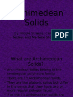 Archimedean Solids[1] (1)
