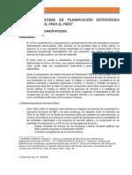 Hacia Un Sistema de Planificación Estratégica Gubernamental Para El Perú1 Gustavo Guerra
