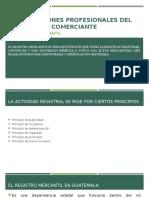 Obligaciones Profesionales Del Comerciante 1-2