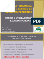 Inta Manejo y Utilizacion de Excretas Porcinas