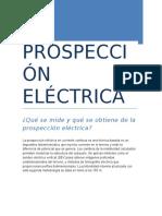 PROSPECCIÓN ELÉCTRICA