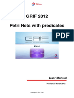 User Manual-GRIF 2012-Petri12-27 March 12