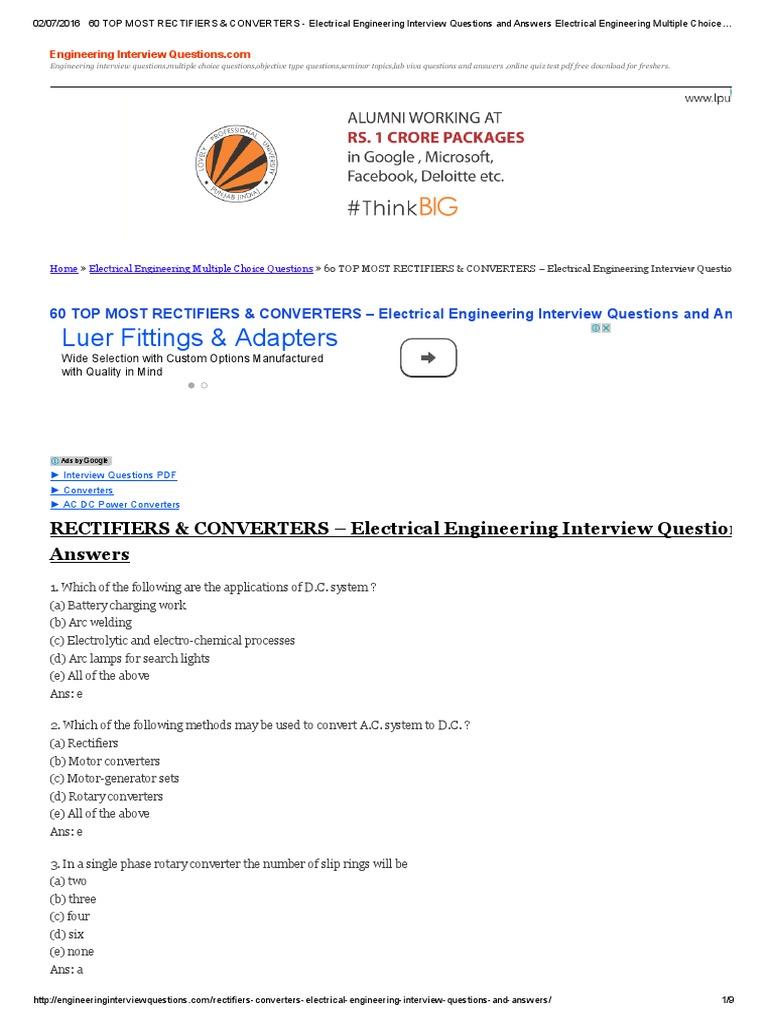 Seminar pdf engineering electrical