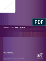 2014 [Book] Service Level Agreement