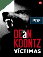 Dean Koontz - Victimas.pdf
