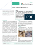 Hexafurcation of Basilar Artery in a Black Kenyan Population