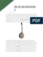 Un Estudio en Las Lecciones de Banjo