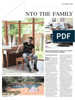 Daniel Baron featured in Star Newspaper — Home section