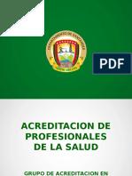 Requisitos Para La Acreditacion de Profesionales de La Salud