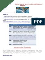 Cuidados de Enfermería Pacientes Con Patologías Quirúrgicas en Urgencias