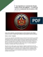 !Planul Barajul Viza Impiedicarea Asasinsrii Lui Ceausescu