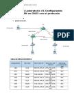 Práctica de Laboratorio #1 Configurando Una Red WAN en GNS3 Con El Protocolo HDLC Armijos Jean