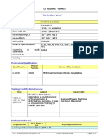 F32_LII Resume Format