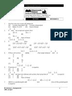Vectors Mathematics 50 Questions