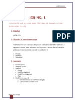 Job 1 Mix Design