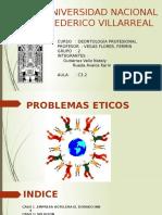 Casos de Problemas Eticos