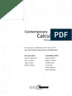 Contemporary Calculus Textbook