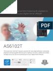 Asustor 2-Bay NAS Server with Intel Celeron N3050 Braswell Quad-Core Processor & 2GB Dual-Channel Memory datasheet