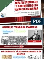 John Snow, La Epidemia de Cólera y el Nacimiento de La Epidemiología Moderna