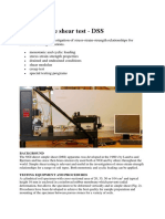 Lab-test Direct Simple Shear Test - DSS