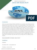 Configure BIND Server With Ubuntu 16