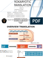 Kelompok 5 B Translasi Prokariot