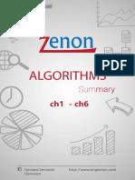 Algo Summary Ch1 Ch6