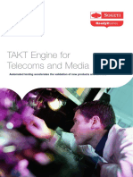 Takt Engine for Telecoms and Media