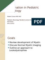 Myelination in Pediatric Neurology (1)