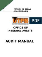 Utpb Internal Audit Manaul II 2010