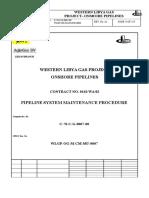 Pipeline Maintenance Procedure C 70 c G 007 00 A1