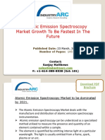 Atomic Emission Spectroscopy Market To Expand As Advances In Flame Emission Spectroscopy | IndustryARC