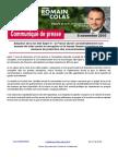 CP Romain COLAS - Vote de La Loi Sapin II - 8 Novembre 2016