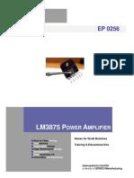 amplificator LM3875