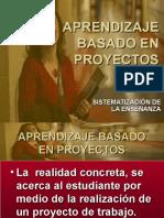 Aprendizaje a Base de Proyectos Sus Requisitos 27 III 2010