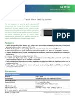 GF302D Energy Meter Calibration GFUVE