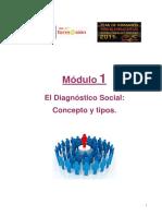 Módulo i El Diagnóstico Social Concepto y Tipos