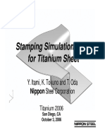 Nippon-Stamping of TI Sheet