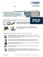 C300B Three Phase Power Calibrator Data Sheet En