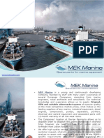 MEK Marine Equipment Spare parts