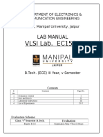 VLSI Lab Manual v Sem July16