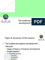 04SAAD-TraditionalSystemsDevelopmentLifeCycle