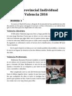 Crónica Ronda 5 Valencia