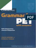 Grammar for Pet Cambridge